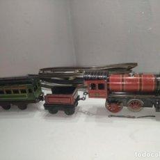Trenes Escala: TREN HOJALATA PAYA 896 AÑOS 40. Lote 190058436