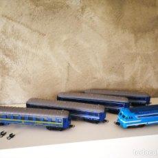 Trenes Escala: LOCOMOTORA SNCF PAYÁ Y VAGONES ESCALA HO. Lote 192007783