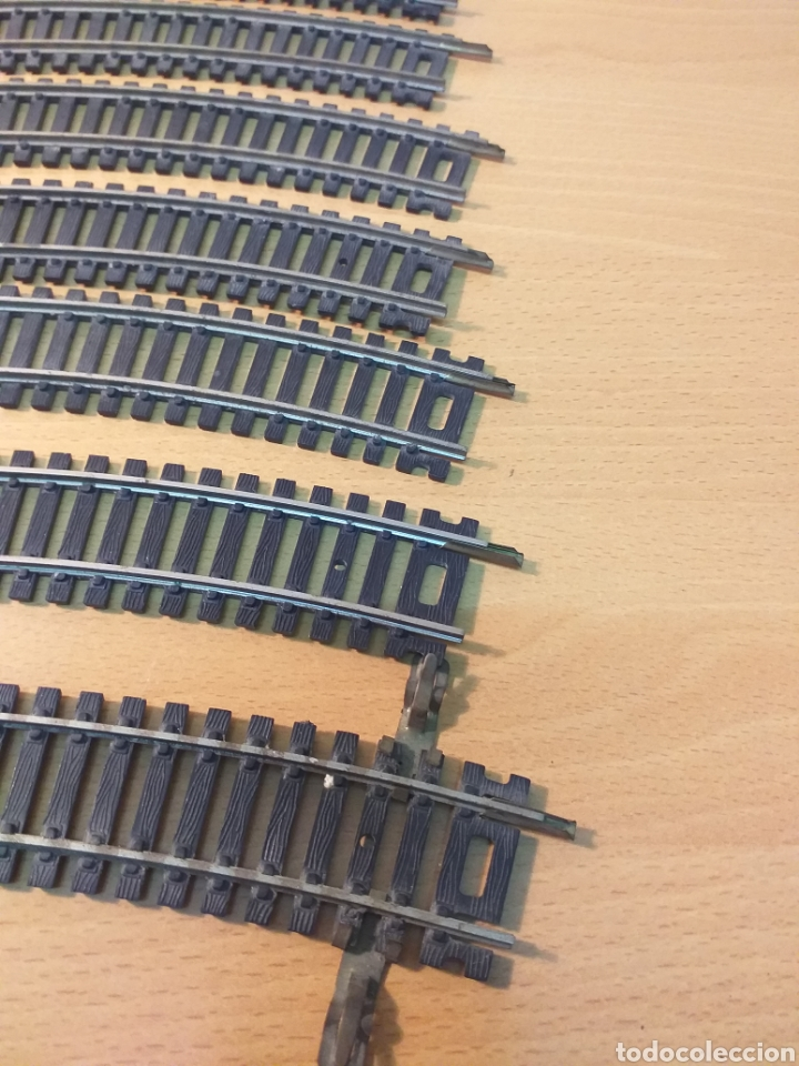Trenes Escala: Lote 11 vias curva PAYA R-360 N/5810 - Foto 2 - 192079362