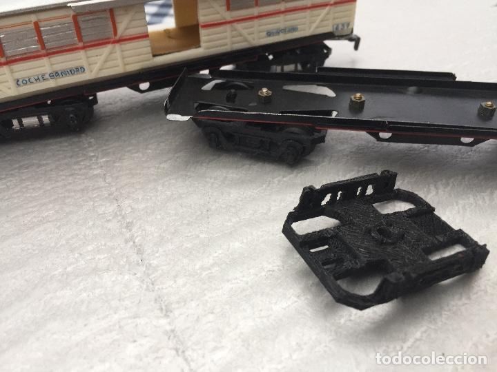 Trenes Escala: Paya repuesto 2 Bogies Escala S octogonal - Foto 4 - 194009668