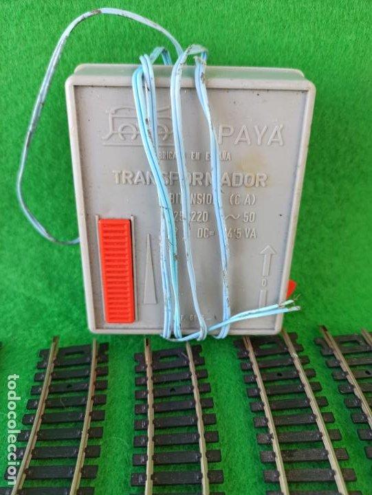 Trenes Escala: LOTE DE VIAS HO Y TRANSFORMADOR PAYA REFERENCIA 5885 - Foto 5 - 194606117