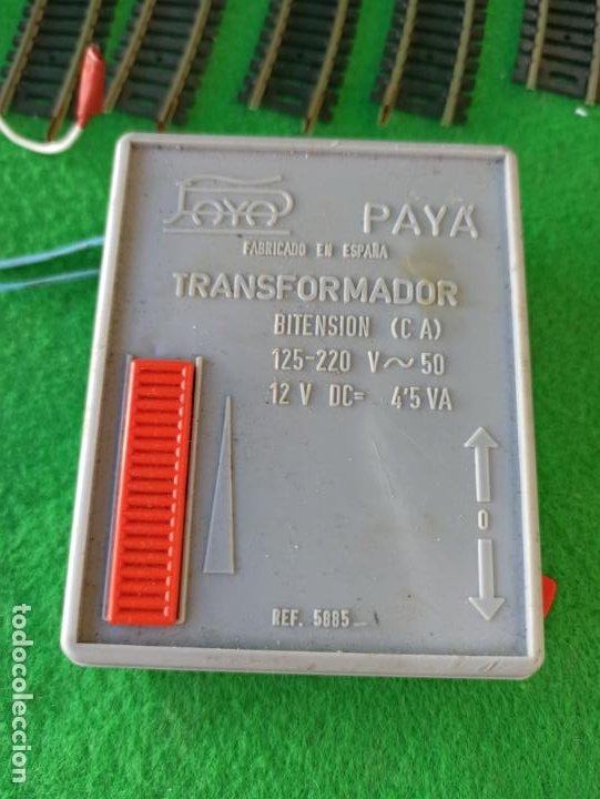 Trenes Escala: LOTE DE VIAS HO Y TRANSFORMADOR PAYA REFERENCIA 5885 - Foto 6 - 194606117