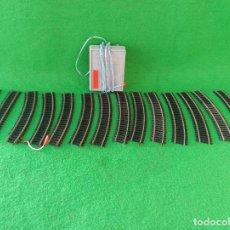 Trenes Escala: LOTE DE VIAS HO Y TRANSFORMADOR PAYA REFERENCIA 5885. Lote 194606117