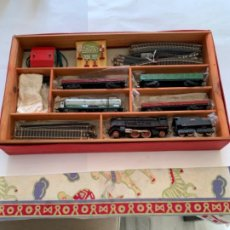 Trenes Escala: PAYA. HO. CAJA COMPLETA AÑOS 50. Lote 201901337