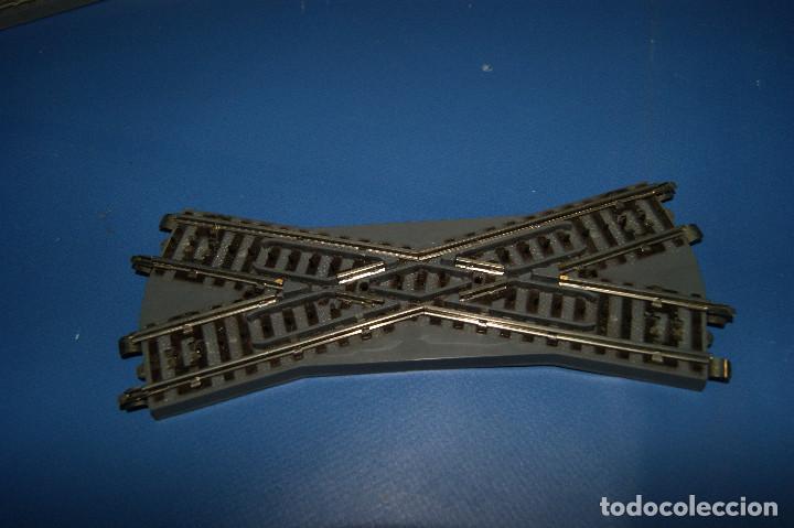 Trenes Escala: Lote de vias-lote de 2 desvios y 1 cruce vías Paya escala H0 -con sus cajas - Foto 4 - 210531817