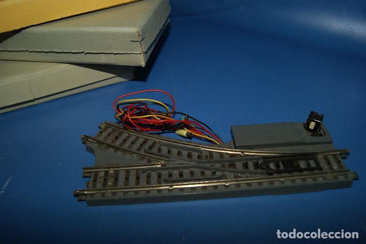 Trenes Escala: Lote de vias-lote de 2 desvios y 1 cruce vías Paya escala H0 -con sus cajas - Foto 5 - 210531817