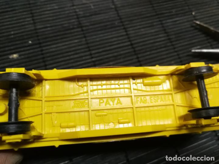 Trenes Escala: PAYA H0 ANTIGUA LOCOMOTORA ELECTRICA TIPO ALSTHOM, REFERENCIA 1823 CON VAGON PILAS TEXACO - Foto 11 - 214232790