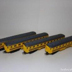 Trenes Escala: PAYA, 4 VAGONES RENFE DE PRIMERA H0. Lote 217861845