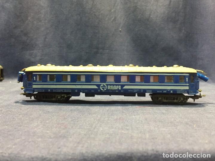 VAGON PAYA RENFE 5613 INSTALACION LUZ INTERIOR FALTA BORNE 5,5X24X3CM (Juguetes - Trenes a Escala H0 - Payá H0)