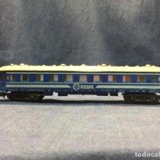 Trenes Escala: VAGON PAYA RENFE 5613 INSTALACION LUZ INTERIOR FALTA BORNE 5,5X24X3CM. Lote 218916180