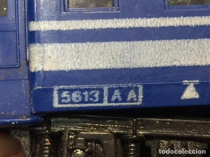 Trenes Escala: VAGON PAYA RENFE 5613 INSTALACION LUZ INTERIOR FALTA BORNE 5,5X24X3CM - Foto 20 - 218916180