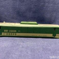 Trenes Escala: CARCASA LOCOMOTORA PAYA ESCALA H0 BB 15006 3,5X19,5X3,5CM. Lote 218922505