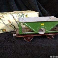 Trenes Escala: ANTIGUO VAGÓN CARBONERO 732 PAYA CON CAJA. Lote 219270123