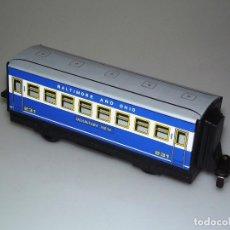 Trenes Escala: PAYÁ Nº 2585 - HUMOTREN - VAGÓN AZUL - HOJALATA Y PLÁSTICO .. Lote 221523950