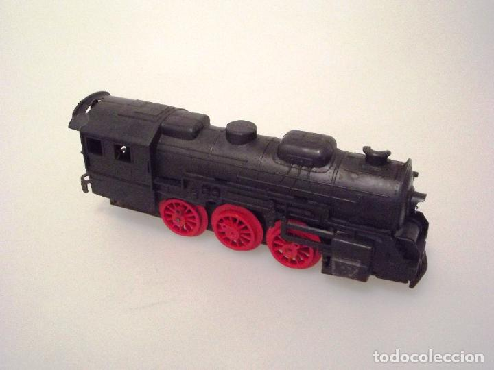 Trenes Escala: PAYÁ Nº 2585 - HUMOTREN - LOCOMOTORA ELÉCTRICA - HOJALATA Y PLÁSTICO . - Foto 2 - 221524096