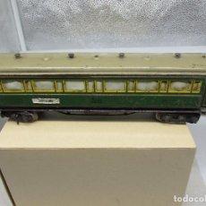 Trenes Escala: VAGÓN DE CHAPA DE LA CASA PAYÁ (BARCELONA-MADRID). Lote 222232935