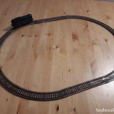 Trenes Escala: LOCOMOTORA ELÉCTRICA Y CIRCUITO OVALADO PAYÁ. AÑOS 50-60. Lote 227736215