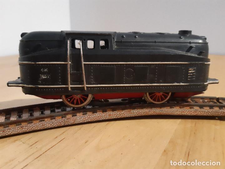 Trenes Escala: Locomotora eléctrica y circuito ovalado Payá. Años 50-60 - Foto 4 - 227736215
