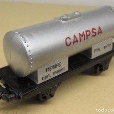 Trenes Escala: PAYÁ VAGÓN CISTERNA CAMPSA ESCALA H0. Lote 234179280