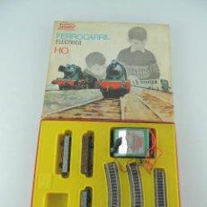 Trenes Escala: FERROCARRIL ELECTRICO HO PAYA, INCOMPLETO,AÑO 1967,EN SU CAJA. Lote 235088830