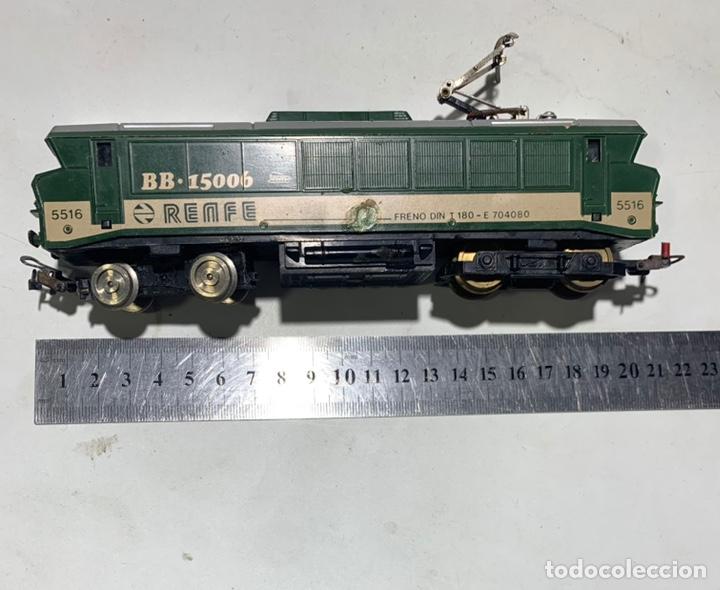 Trenes Escala: Locomotora eléctrica de tren Renfe paya h0 5516 bb-15006 - Foto 2 - 235529315