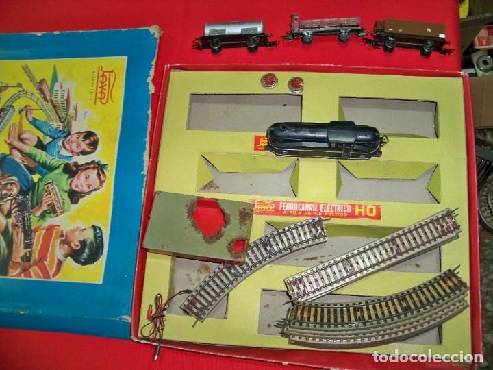 Trenes Escala: Antiguo ferrocarril eléctrico de PAYA HO del año 1959 - Foto 11 - 151500554