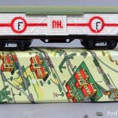 Trenes Escala: VAGÓN MERCANCÍAS TREN PAYÁ ESCALA S 1436 CON CAJA AÑOS 50. Lote 238617555