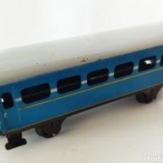 Trenes Escala: VAGÓN DE TREN METÁLICO PAYÁ. AÑOS 50. Lote 242420805