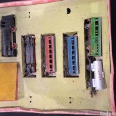Trenes Escala: ANTIGUO TREN FERROCARRIL ELECTRICO HO PAYA TAL CUAL COMO SE VE EN FOTOS. Lote 242908190