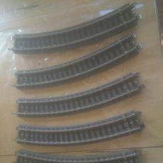 Trenes Escala: VIAS DE PAYA , REF. 1616. TREN -CURVAS.. Lote 242941245