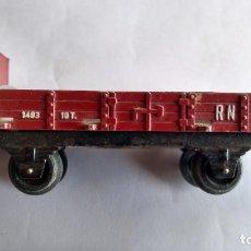 Trenes Escala: PAYA H0, VAGÓN CARGA CON GARITA. Lote 244693630