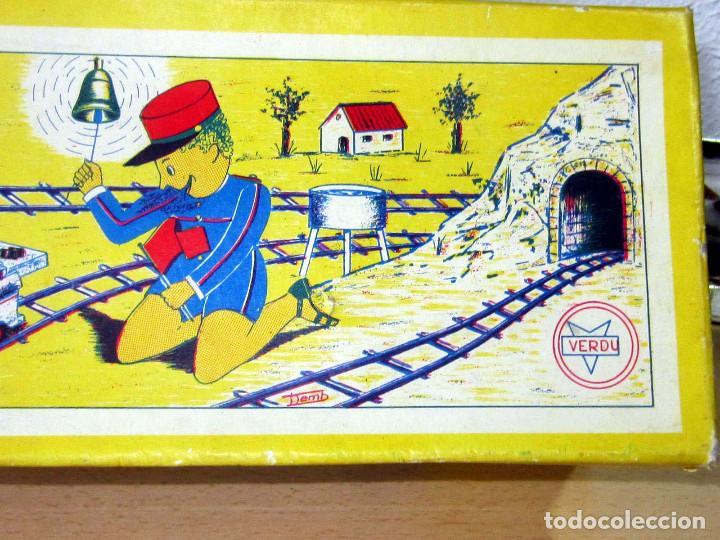 Trenes Escala: VERPLANA ( VERDU,IBI) ESTACION PARA FERROCARRILES HO,REF 32 CON CAJA Y COMPLEMENTOS - Foto 4 - 246723085