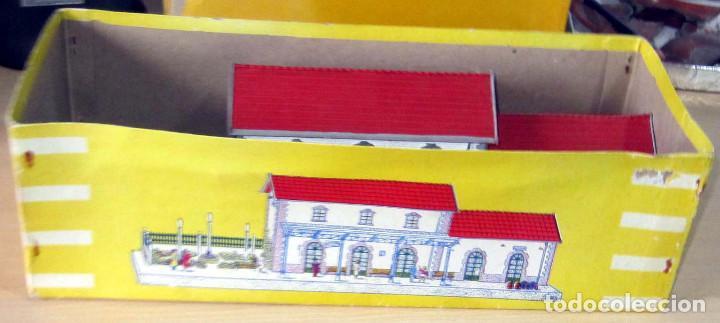Trenes Escala: VERPLANA ( VERDU,IBI) ESTACION PARA FERROCARRILES HO,REF 32 CON CAJA Y COMPLEMENTOS - Foto 5 - 246723085