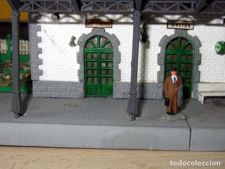 Trenes Escala: VERPLANA ( VERDU,IBI) ESTACION PARA FERROCARRILES HO,REF 32 CON CAJA Y COMPLEMENTOS - Foto 30 - 246723085