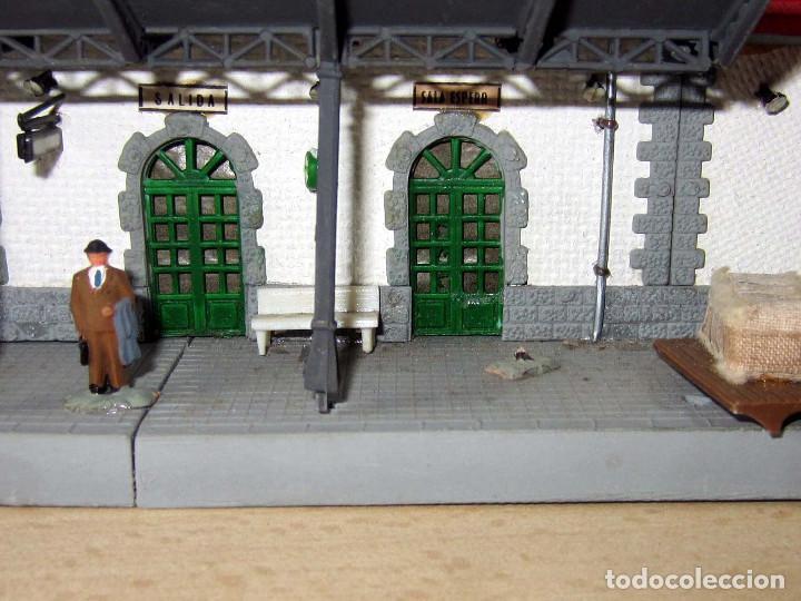 Trenes Escala: VERPLANA ( VERDU,IBI) ESTACION PARA FERROCARRILES HO,REF 32 CON CAJA Y COMPLEMENTOS - Foto 31 - 246723085