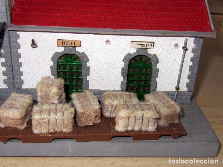 Trenes Escala: VERPLANA ( VERDU,IBI) ESTACION PARA FERROCARRILES HO,REF 32 CON CAJA Y COMPLEMENTOS - Foto 32 - 246723085