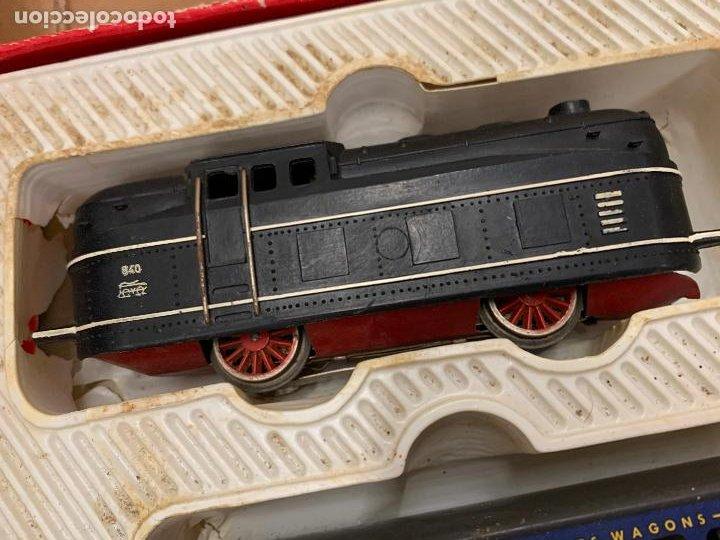Trenes Escala: Antiguo tren, FERROCARRIL ELECTRICO A PILA, PAYA, escala H0, años 60. Raro y dificil. Leer mas... - Foto 10 - 248473955