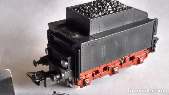 Trenes Escala: PAYÁ H0 ,DESGUACE LOCOMOTORA VAPOR CON TENDER 1631. LO DE LAS FOTOS - Foto 12 - 254050815