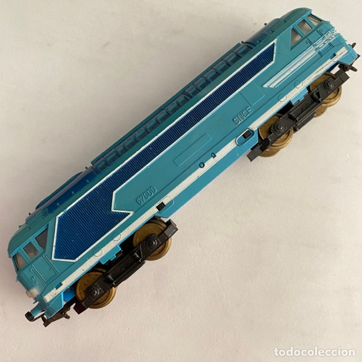 Trenes Escala: Tren locomotora 67000 de la SNCF escala H0 Paya - Foto 3 - 254892060