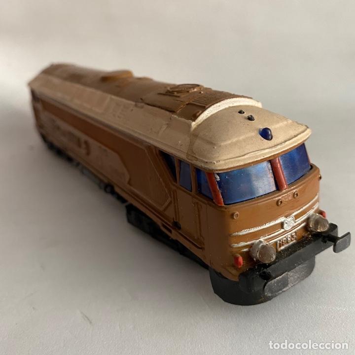 TREN LOCOMOTORA JYESA RENFE 1983 ESCALA H0 PAYA (Juguetes - Trenes a Escala H0 - Payá H0)