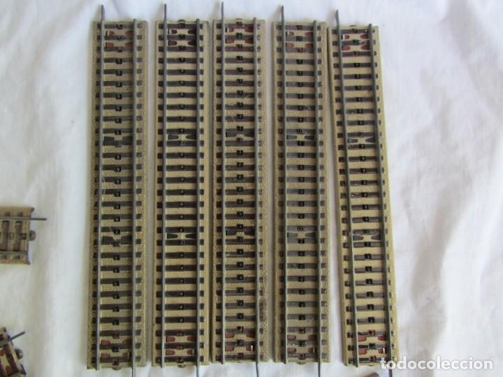 Trenes Escala: Conjunto trenes Paya HO 840 locomotora vagones vias - Foto 21 - 255363780