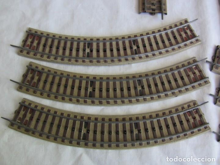 Trenes Escala: Conjunto trenes Paya HO 840 locomotora vagones vias - Foto 23 - 255363780