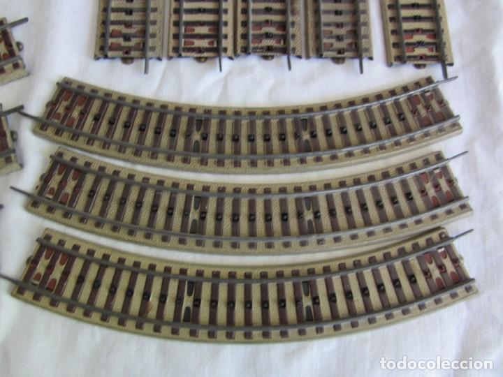Trenes Escala: Conjunto trenes Paya HO 840 locomotora vagones vias - Foto 24 - 255363780
