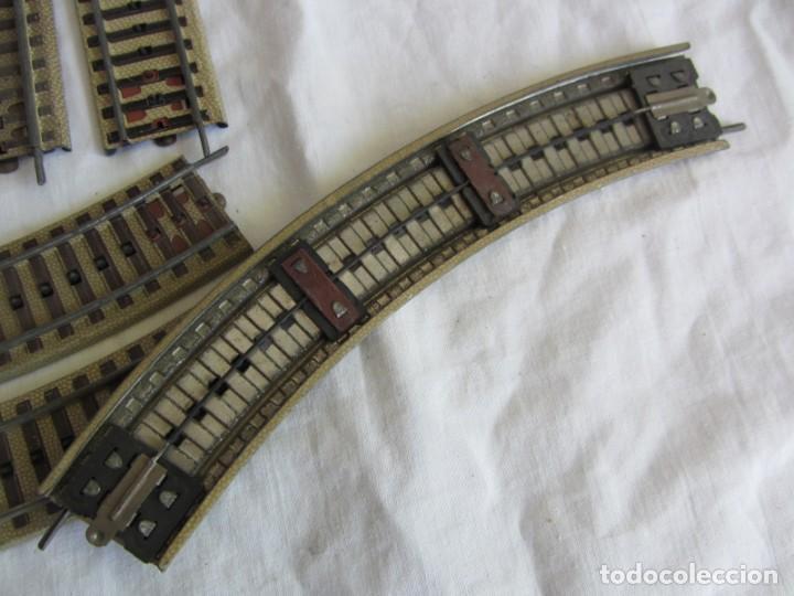 Trenes Escala: Conjunto trenes Paya HO 840 locomotora vagones vias - Foto 25 - 255363780