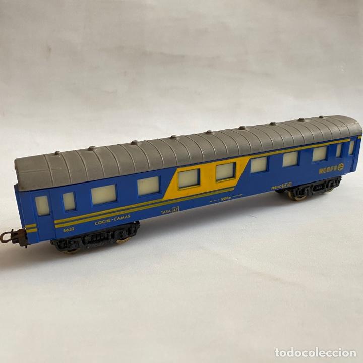 TREN VAGON PAYA RENFE 5632 COCHE CAMAS ESCALA H0 (Juguetes - Trenes a Escala H0 - Payá H0)