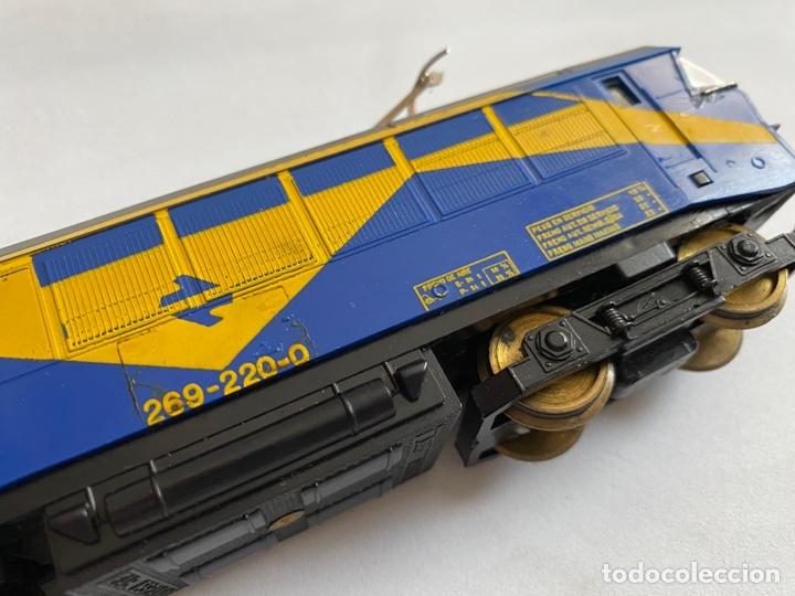 Trenes Escala: Tren locomotora Paya Renfe Mazinger 269-220-0 escala H0 - Foto 2 - 255941350