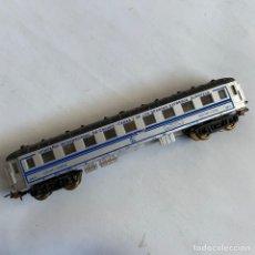 Trenes Escala: VAGON DE TREN COCHE-CAMAS 5611 TREN AZUL BARCELONA-PARÍS ESCALA H0 PAYA. Lote 259784605