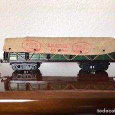 Trenes Escala: PAYA VAGÓN DE TELEROS CON LONA . ESCALA S AÑOS 50'. Lote 267188684
