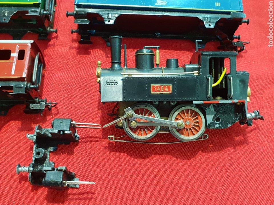 Trenes Escala: ANTIGUO TREN PAYA . PARA PIEZAS O REPARAR - Foto 2 - 272709763