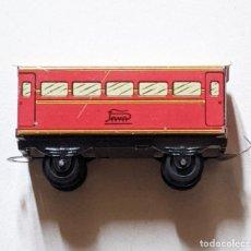 Trains Échelle: VAGÓN DE HOJALATA LITOGRAFIADA PAYA. 7,6 CM LARGO X 3 CM ANCHO.. VELL I BELL. Lote 275890878